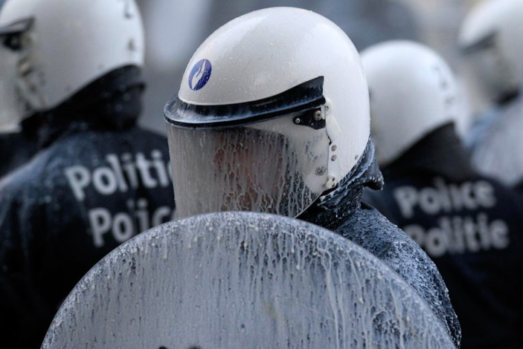 Milk protests in Brussels