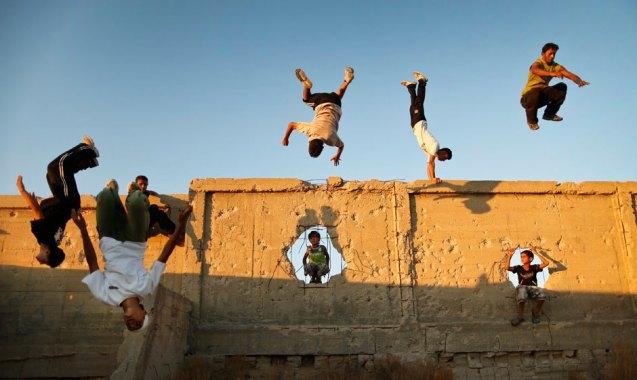 Parkour in Gaza