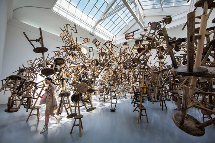 Bang by Chinese artist Ai Weiwei at the Venice Biennale 2013